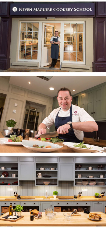 The Neven Maguire Cookery School is a dream come true for me