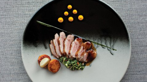 Thornhill Duck with Sweet Potato Fondants