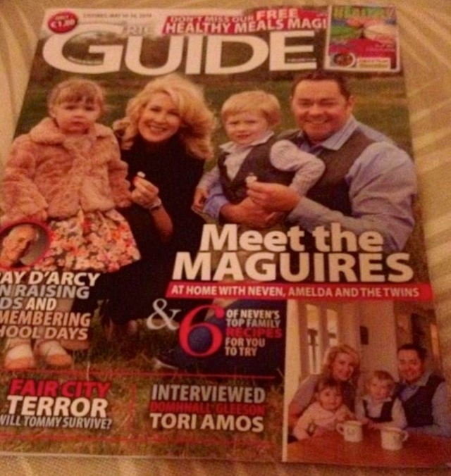 RTE GUIDE... Lovely piece in the RTE Guide