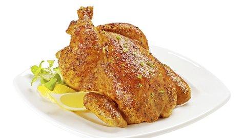 A beautiful Roast Chicken on Father's Day