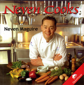 Wow.. My first ever book. Look at that baby faced chef on the front cover.
