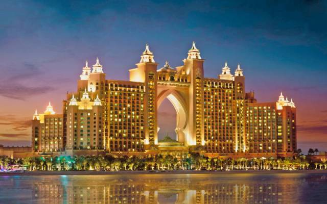 The Atlantis Hotel in Dubai