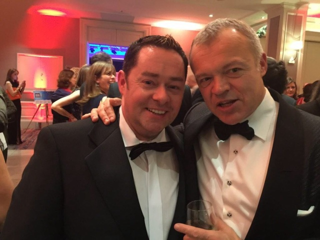 Neven with fellow winner Graham Norton