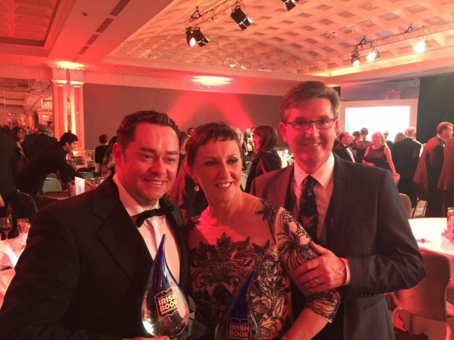Neven with Majella O'Donnell and her husband Daniel