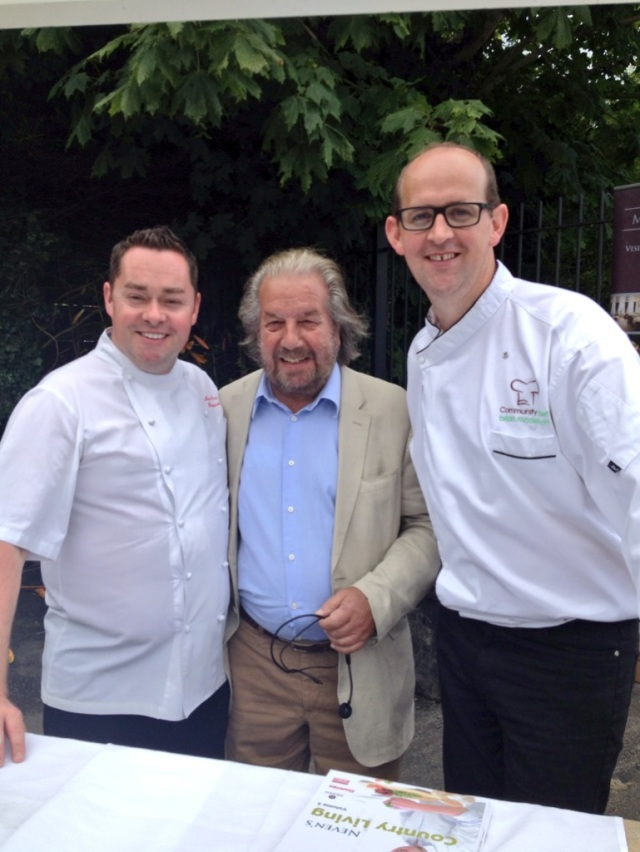 A TRUE GENT... Myself and Brian McDermott with Paolo Tullio. Paolo was a great supporter of Irish food.
