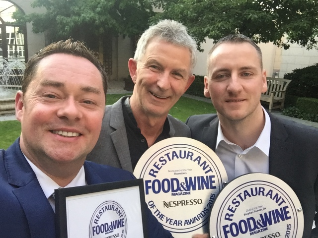 HUMBLED... Can't believe I won 'Hall of Fame Award' and Food and Wine Awards.