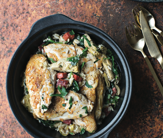 A  CLASSY CHICKEN... This light and delicious chicken dish is a perfect and tasty healthy option