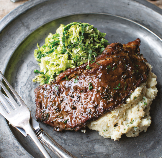 SCRUMPTIOUS STEAK... Try these minute steaks for a full flavoured feast