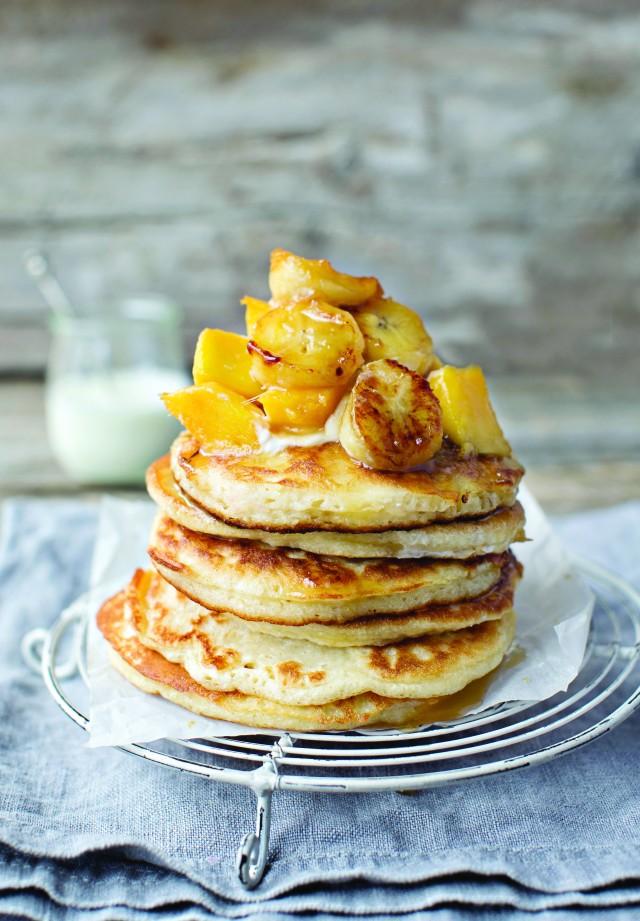 HOTCAKE HEAVEN... Try these delicious hotcakes as an alternative to pancakes.