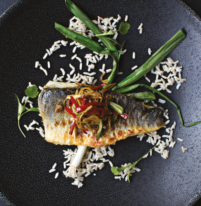 SENSATIONAL SEABASS... Try this healthy Seabass dish for a change of fish pace
