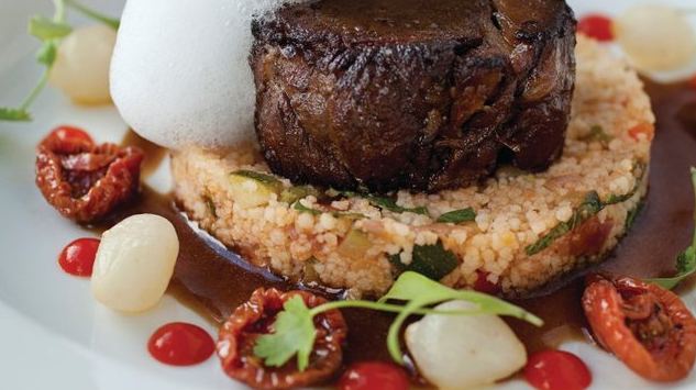BRAISED PERFECTION... This lamb dish with couscous is just gorgeous